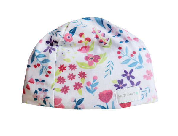 HUSH Hat™ Purple Poppy - Noise Reducing Design