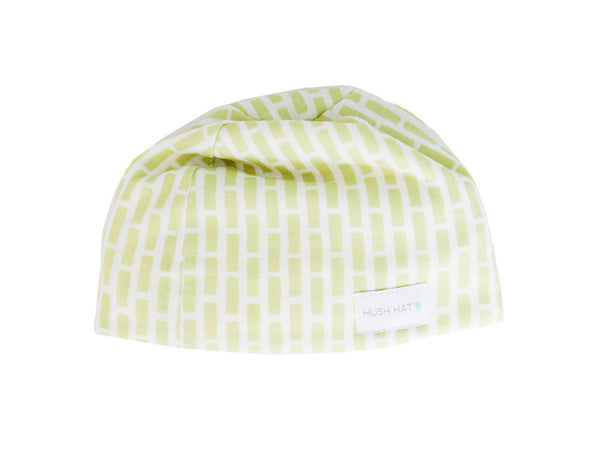 HUSH Hat™ Lime Bricky - Noise Reducing Design