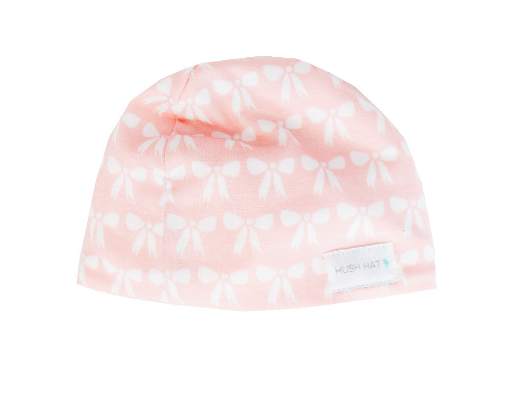 HUSH Hat™ Merci Bow Coup - Noise Reducing Design