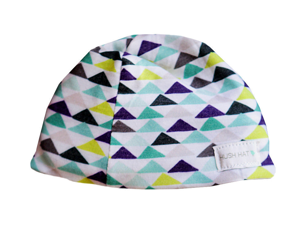 HUSH Hat™ Geo Triangles -Noise Reducing Design