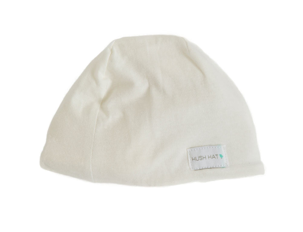 HUSH Hat™ Pearl-Noise Reducing Design