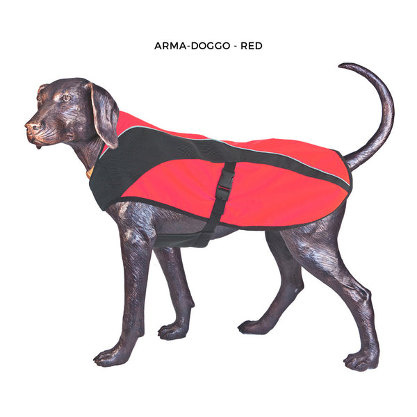 Arma-Doggo - Warm and Durable - Bright Orange