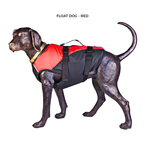 Float Doggy - Dog Life Jacket - Red