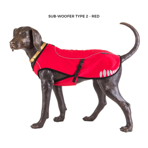 Sub-Woofer 2 - Activity Jacket - Red