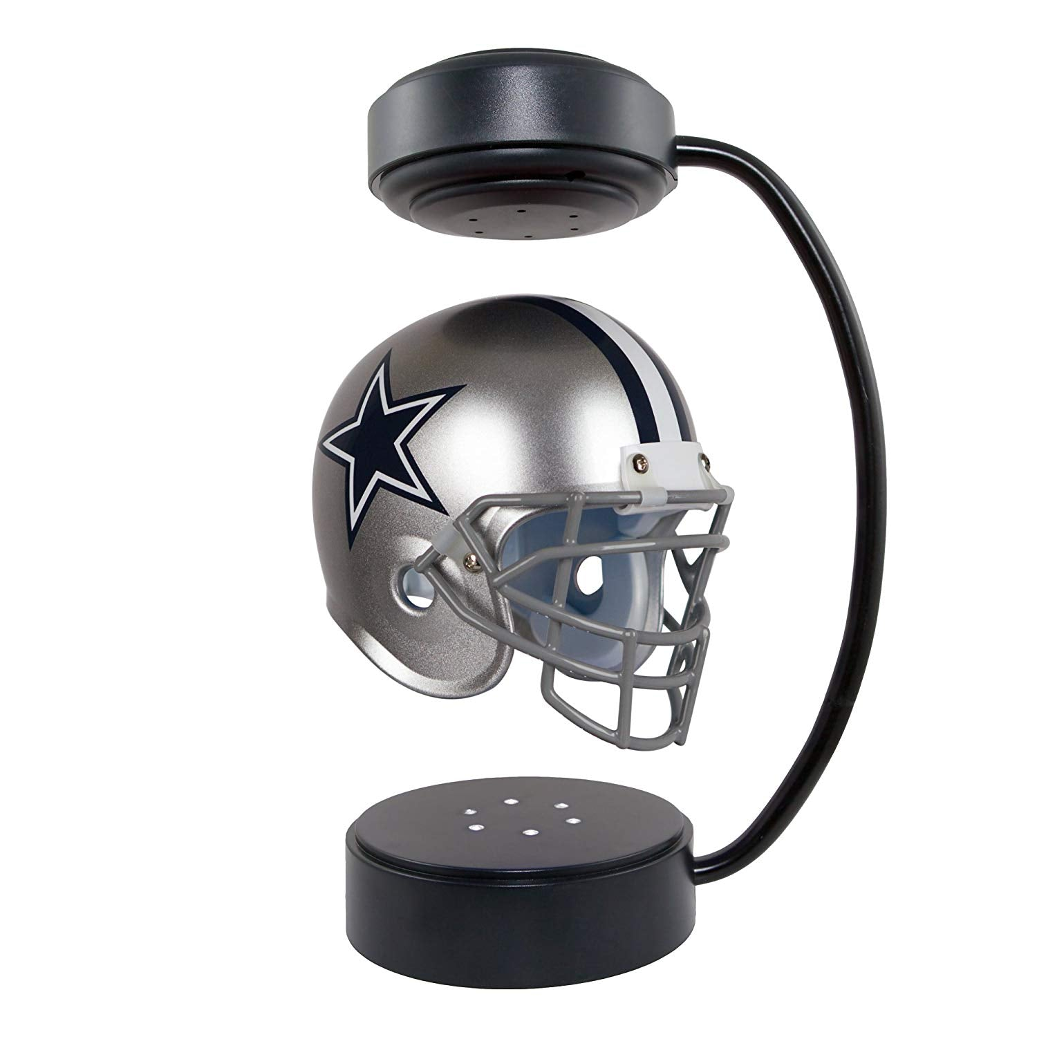 Dallas Cowboys Levitating Helmet Collectible With Electromagnetic Stand Wishgadget Com