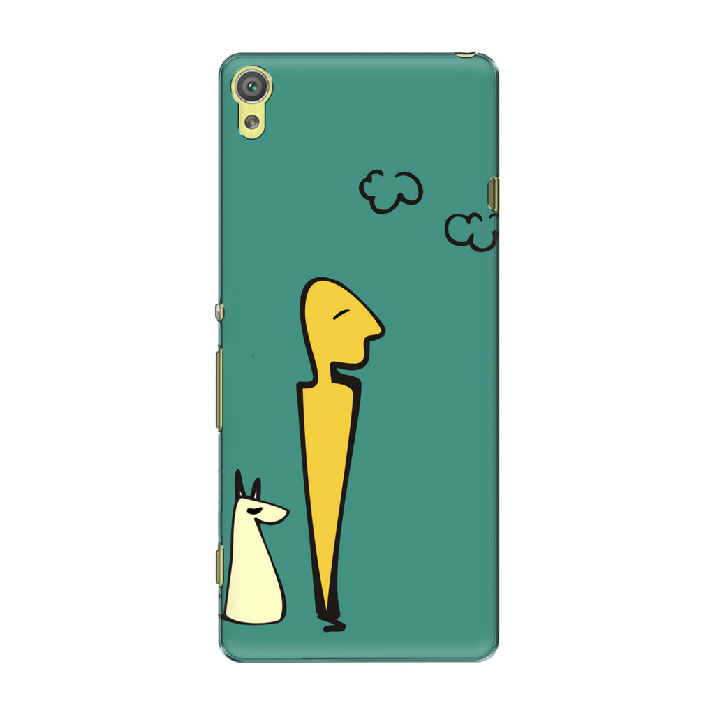 Hang Out phone back cover for Sony Xperia XA