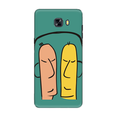Share what you love phone back cover for Samsung Galaxy C9 Pro