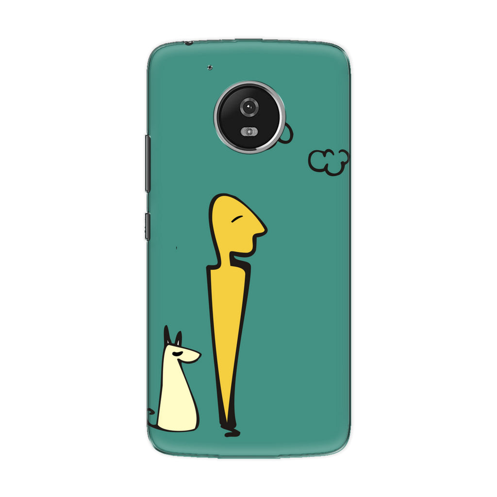 Hang Out phone back cover for Motorola Moto G5 Plus