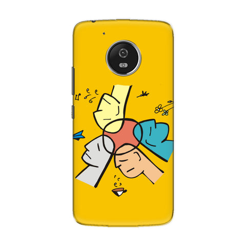 Collaborate phone back cover for Motorola Moto G5 Plus