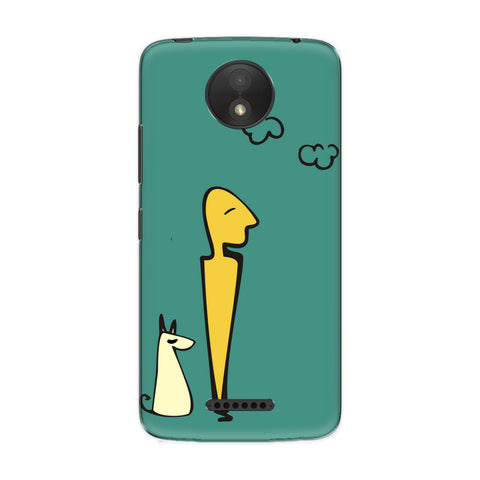 Hang Out phone back cover for Motorola Moto C Plus