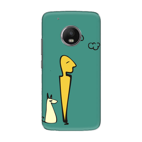 Hang Out phone back cover for Motorola Moto G5S Plus