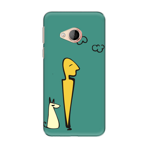 Hang Out phone back cover for HTC U Play