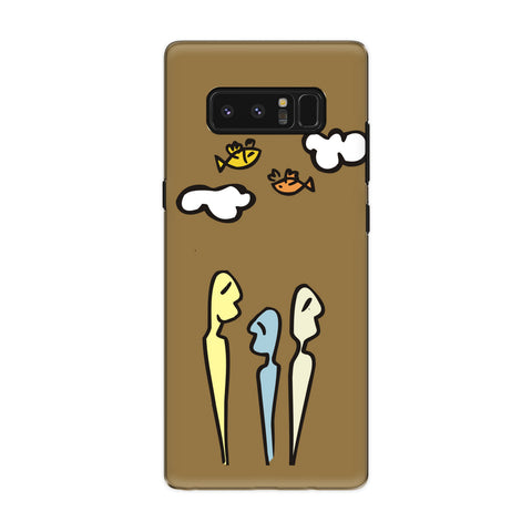 Dream Together phone back cover for Samsung Galaxy Note 8