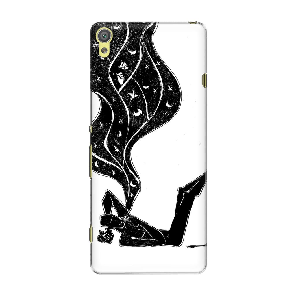 Dreamer 02 phone back cover for Sony Xperia XA