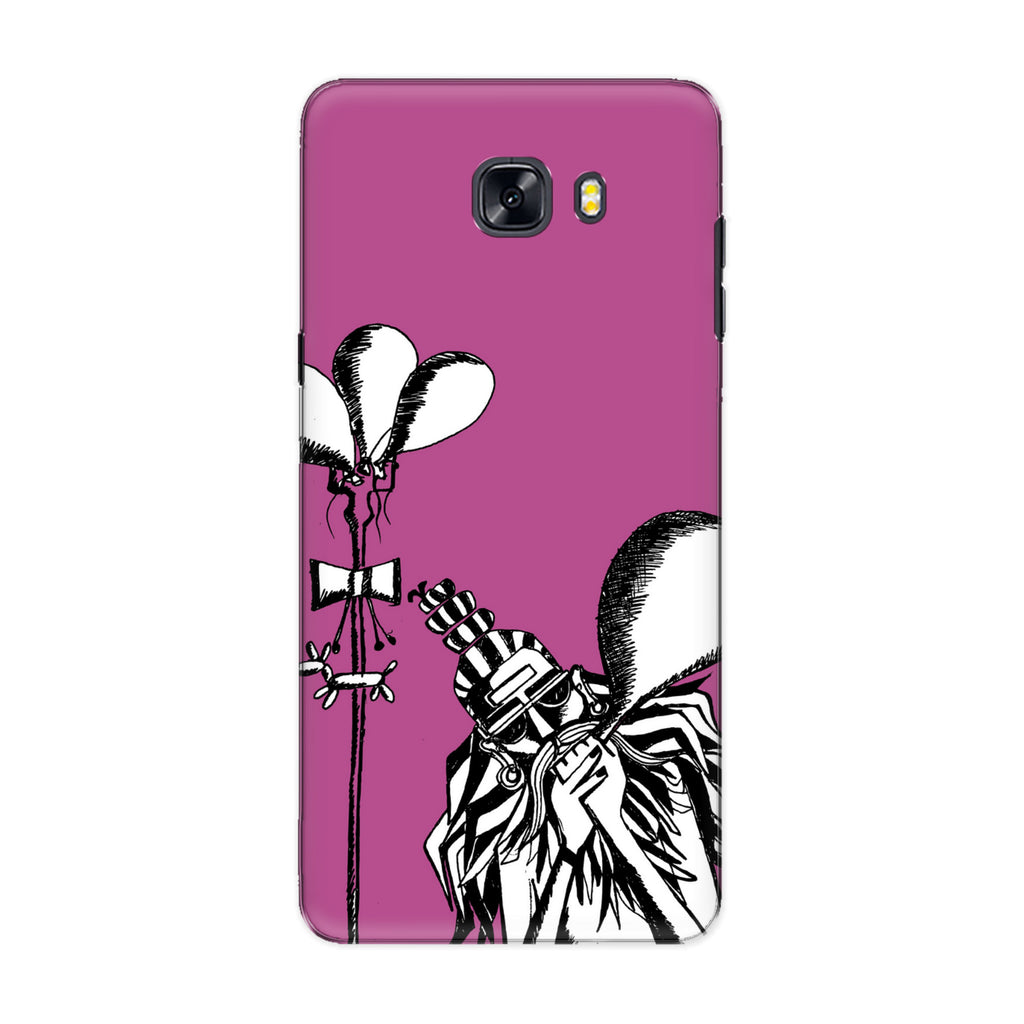 Rehab phone back cover for Samsung Galaxy C9 Pro