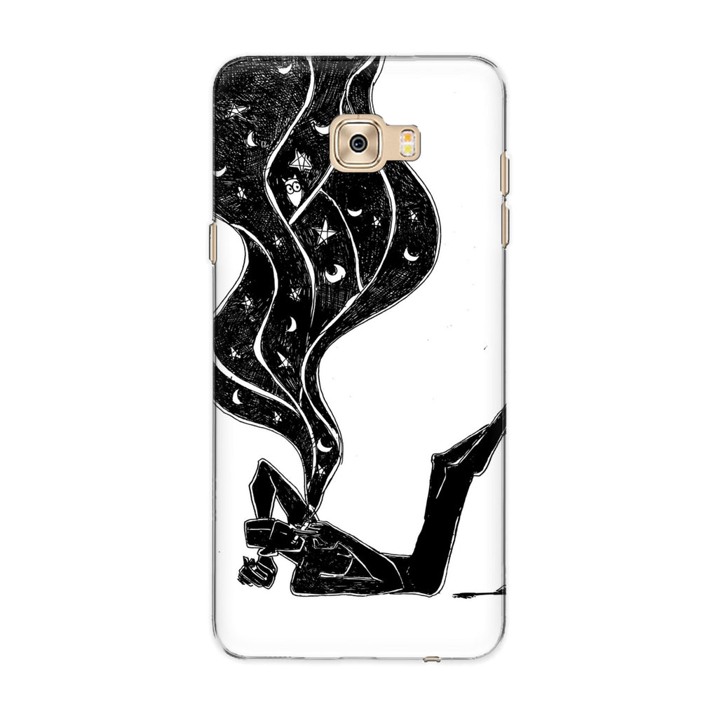 Dreamer 02 phone back cover for Samsung Galaxy C7 Pro
