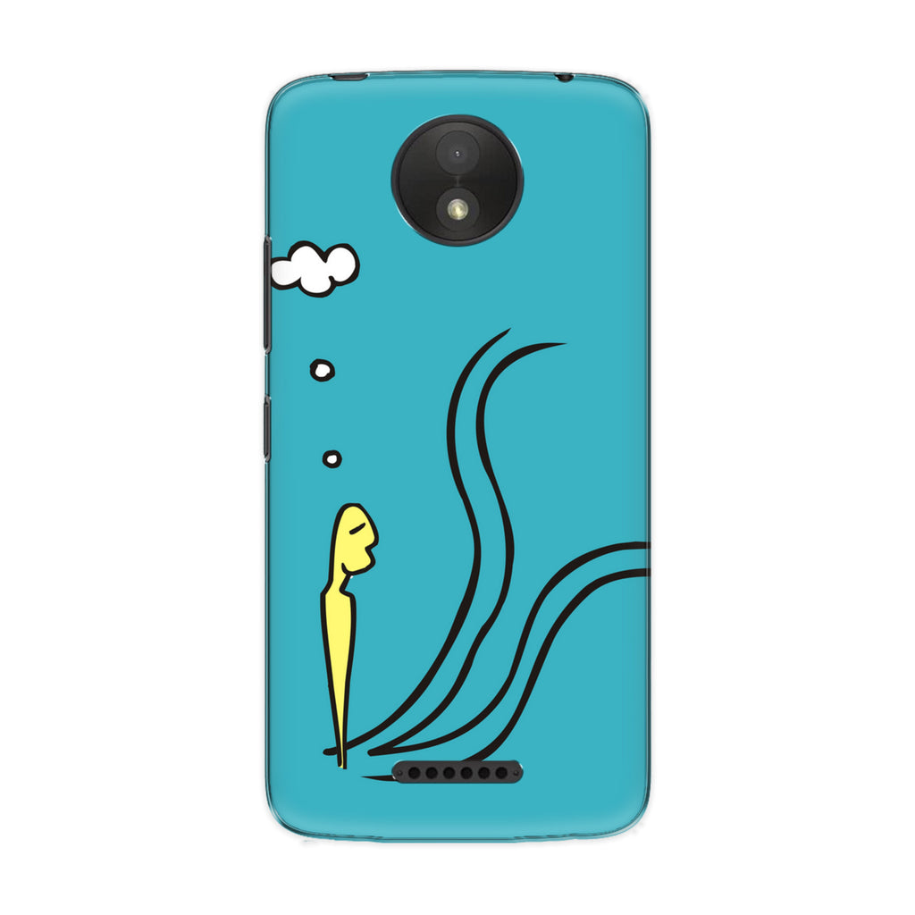 Choices phone back cover for Motorola Moto C Plus