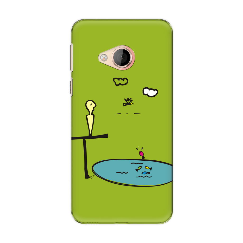 Contemplate 01 phone back cover for HTC U Play