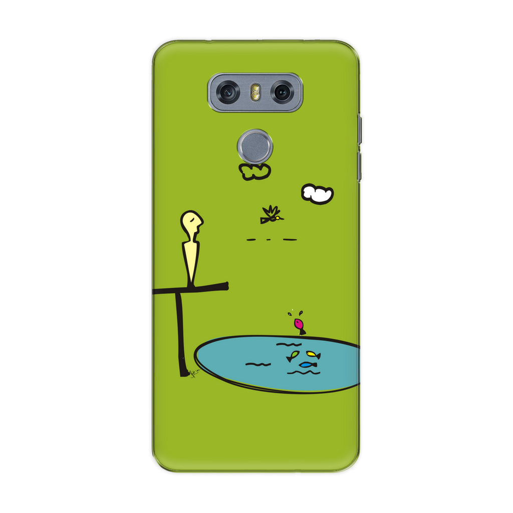 Contemplate 01 phone back cover for LG G6