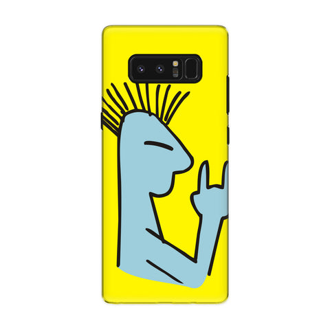 Rockstar phone back cover for Samsung Galaxy Note 8