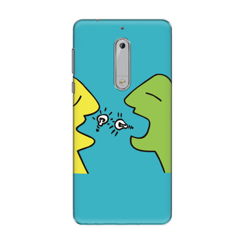 Idea Storm phone back cover for Nokia 5