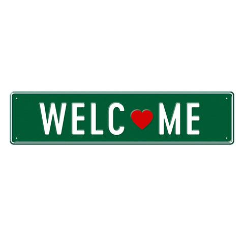 WELCOME - Metal Sign
