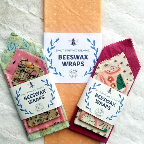Salt Spring Island Bees Wax Wraps