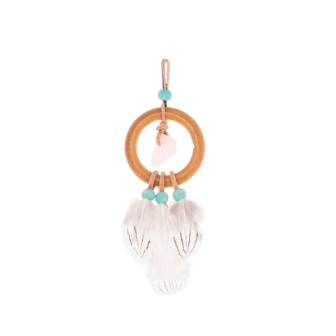 Rose Quartz Mini Dream Weaver - The Woven Dream