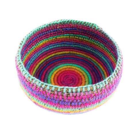 Large Rainbow Basket - The Woven Dream  - 2