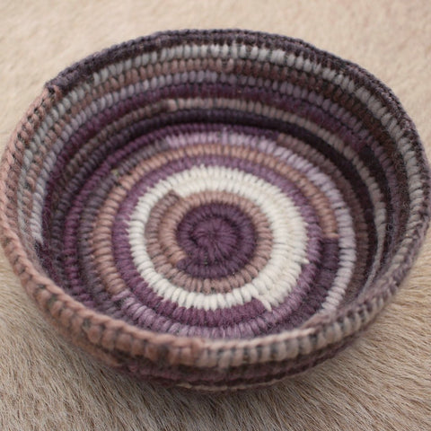 Purple Shades Basket - The Woven Dream  - 1