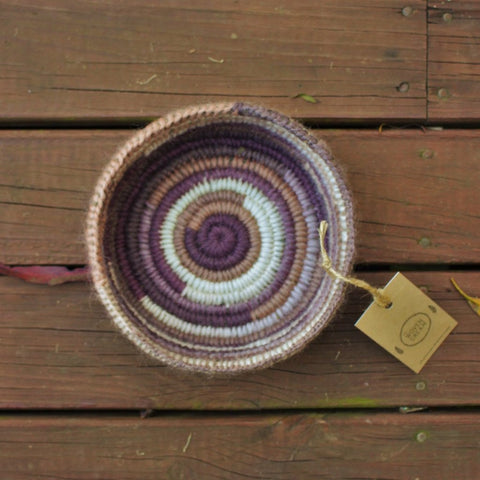 Purple Shades Basket - The Woven Dream  - 2