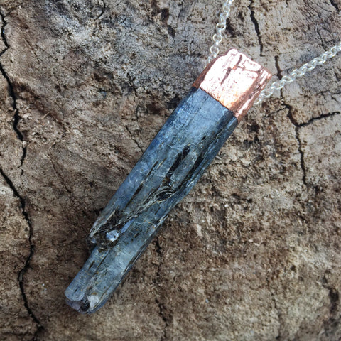 Kyanite Necklace *Large Speciality Piece*