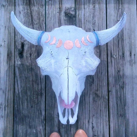 Bison Magic - Copper Moon Phase + Rose Quartz