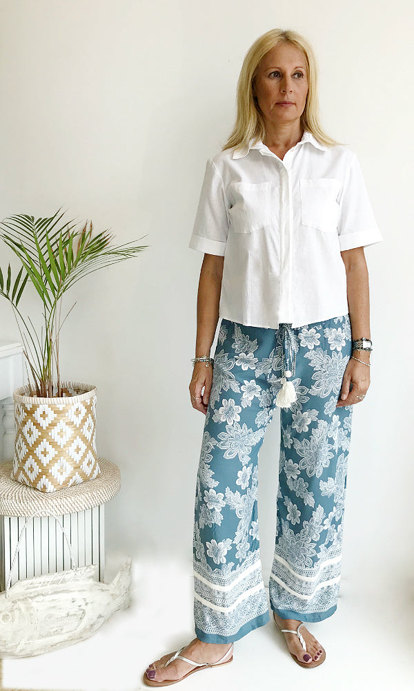 PORTIA- Straight Leg W'end Pant