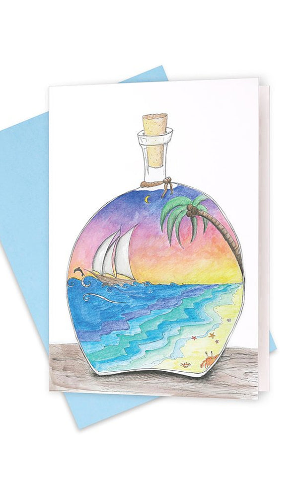 SUNSET & SAILS- Magic In a Bottle
