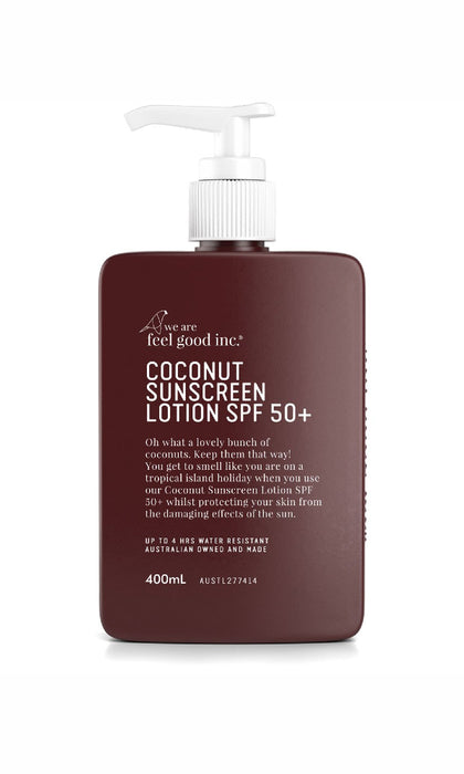 WE R FEEL GOOD- Coconut Sunscreen