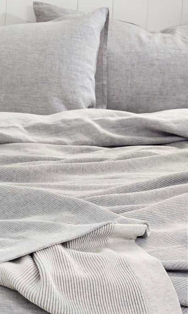 COTTON THROW- Reversible Cotton Throw