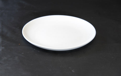 19cm White Porcelain Coupe Side Plate