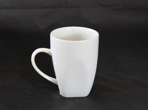 White Square Base Mug