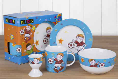 4 Piece Footballer Dining Set