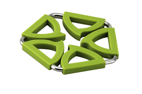 Green Silicone Trivet - SALE ITEM