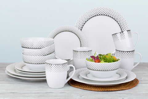 16 Piece Platinum Celebration Dinner Set