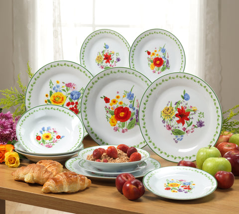 WILD FLOWERS SET 24Pc DINNER SET