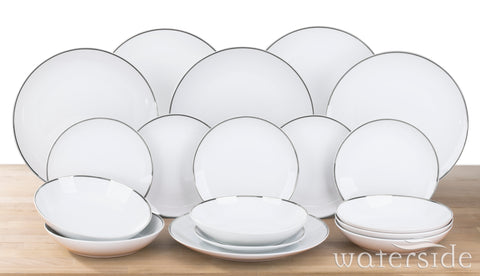 18 Piece Platinumline Dinner Set