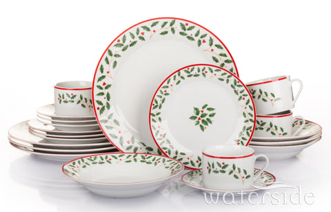 20 Piece Holly Dinner Set