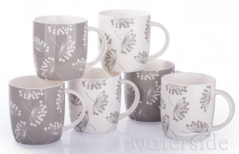 6pc Norland Mugs