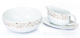 3 Piece Gold Star Serving Set