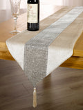 7pc Velvet GOLD Diamante Runner & Placemats