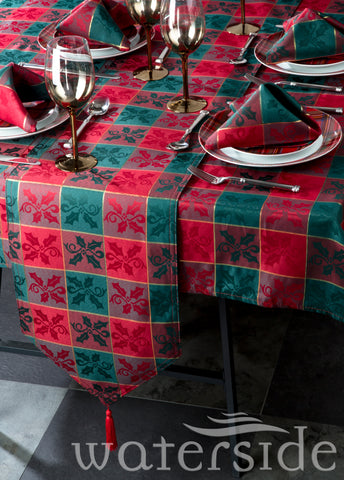 10pc Glory Tartan Table Linen Set