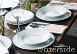 18pc Chunky White Dinner Set